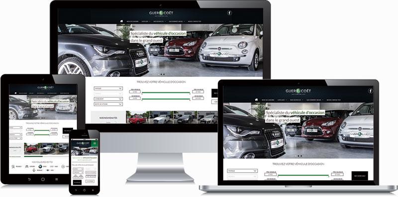 Guer Coët Automobiles version responsive